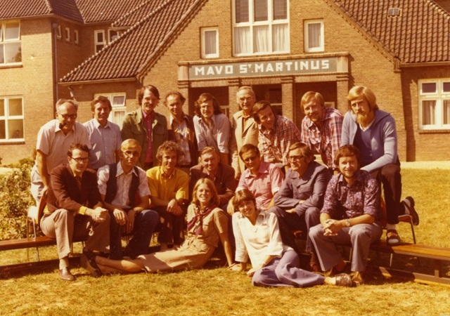 schoolteam in 1976